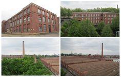 DMC factories, Mulhouse. Photos © Ludovic Bischoff