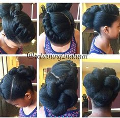 ... Hair It Is on Pinterest Flat twist, Crochet braids and Perm rod set
