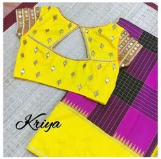 Designer Blouse Designs for Sarees - Kurti Blouse Simple Blouse Designs, Stylish Blouse Design, Fancy Blouse Designs, Blouse Neck Designs, Skirt Blouse Design, Patch Work Blouse Designs, Blouse Styles, Mirror Work Blouse Design, Designer Blouse Patterns