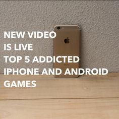 http://youtu.be/O1Une9OxfBQ?a TOP FIVE ADDICTED IPHONE AND ANDROID GAMES
