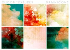 50 icon-sized textures. Comment, credit damnicons or sarah-dipity, and enjoy!
