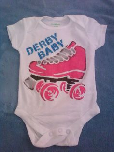 Derby Baby Onesie by CutThroats on Etsy, $12.00