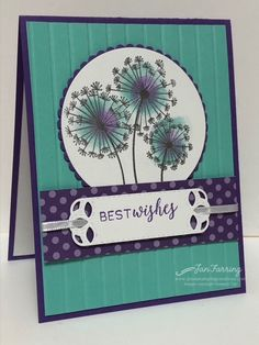 Crafting in the Ochocos Retreat Day 3 Kit of the Day (Jan's Stamping Creations) Birthday Card Design, Birthday Cards, Diy Birthday, Happy Birthday, Pretty Cards, Cute Cards, Card Making Inspiration, Making Ideas, Karten Diy