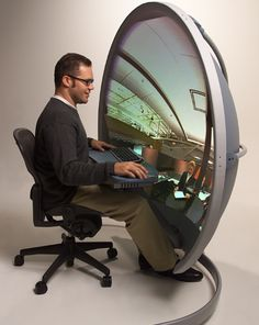 3D Monitor that you can actually buy! I really want one of these!
