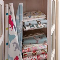 Clarke and Clarke -  Sketchbook Prints Fabric Collection -
