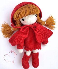 My crochet doll no.8