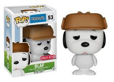 Peanuts: Olaf Pop! figure by Funko, Target exclusive