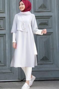 Source by firdevsp fashion hijab Hijab Style Dress, Modest Fashion Hijab, Hijab Outfit, Fashion Dresses, Fashion Muslimah, Modest Dresses, Modest Outfits, Stylish Dresses, Prom Dresses