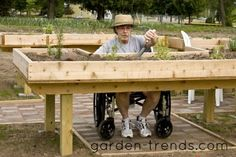 1000 images about tuinieren met een handicap accessible for Garden design ideas for disabled