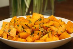 Butternut Squashwith Rosemary