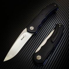 The Boker Plus #A2 features 3D-milled #G10 handle scales, #VG10 stainless steel blade, #IKBS ball ...