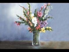 Have you ever tried painting flowers, but they don't seem to have enough depth? Watch Kevin paint these stunning gladiola flowers in a vase, using both shadows and highlights to achieve a lot of depth as well as using bright colors to bring the eye into the painting. For more information on brushes, visit: www.paintwithkevin.com