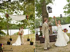 the last wedding set of pics is the best.great looks for outdoor wedding! Outside Wedding, Farm Wedding, Wedding Tips, Wedding Engagement, Diy Wedding, Wedding Photos, Dream Wedding, Steampunk Wedding, Sister Wedding
