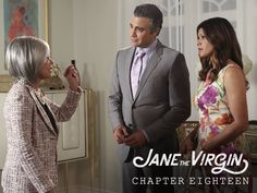 "S1 Ep18 ""Chapter Eighteen"" - Can't the two most important women in Rogelio's life just get along? #JaneTheVirgin"