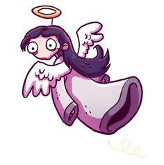 #edna #harvey #breakout #christmas #daedalic #games #videogames #angel  #daedalicschristmas Break Outs, Nerd Stuff, Videogames, Concept Art, Fanart, Gaming, Games, Templates, Paint