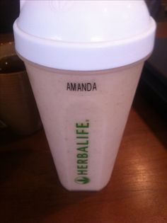 Oatmeal herbalife shake for breakfast! 2 tbs all natural oats chopped in the blender first, 8 oz water or milk, one scoop vanilla protein drink mix, one scoop dulce formula 1, once scoop cookies formula 1, and one teaspoon cinnamon! So yummy!! Www.goherbalife.com/amandahobbs - ask me how to get started today!! Don't forget to ask me about the fall coupon code that expires October 31st!