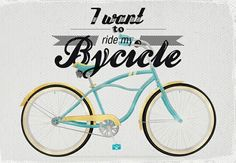bicicleta, bycicle