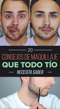 20 consejos de maquillaje «natural» que cualquier hombre debería conocer