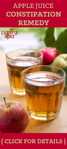 Apple prune juice can help clean out your colon. Both prune and apple juices work as laxatives, so when used together they can reduce constipation.