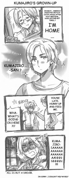 Kumajiro Grows Up <<< WHY YO DO THIS. NOW I SHIP CANADA AND HUMAN KUMAJIRO! DAMN YOU!!