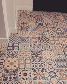 Mój kawałek podłogi  #gayafores #heritage #heritagemix #ceramic #floor #myfloor #hall #mozaic #colourfull #vintage #vintagestyle #home #myhome #ournewhome #design #interiordesign #love #ilovemyfloor