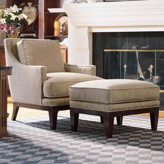 Stickley Tribeca Lounge Chair for the living room