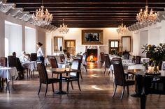 The restaurant in Skrøbelev Gods, Rudkøbing #visitfyn #fairytalefyn #denmark