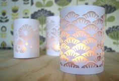 Tuto minilabo : lampions en papier découpé