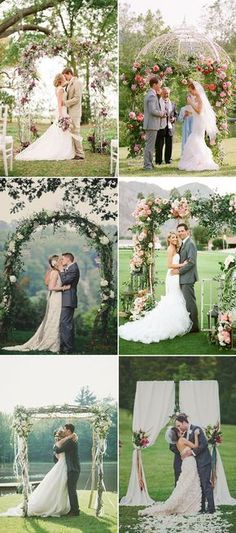 Many girls dream to have an outdoor wedding ceremony on the grass surrounded by… Outdoor Wedding Decorations, Wedding Themes, Outdoor Weddings, Wedding Styles, Rustic Weddings, Wedding Prep, Budget Wedding, Wedding Tips, Dream Wedding