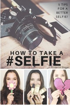 5 Easy Tips to take a better selfie.   All of my blog photos are selfies. Here's the tips and tricks I've learned to help you take stronger selfies.