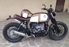 beautiful BMW #scrambler #motos #motorcycles | caferacerpasion.com