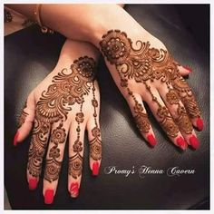 Simple Arabic Mehndi Designs, Mehndi Designs Book, Beautiful Mehndi Design, Simple Henna, Mehndi Designs For Hands, Best Mehndi, Henna Mehndi, Hand Henna, Arabic Henna