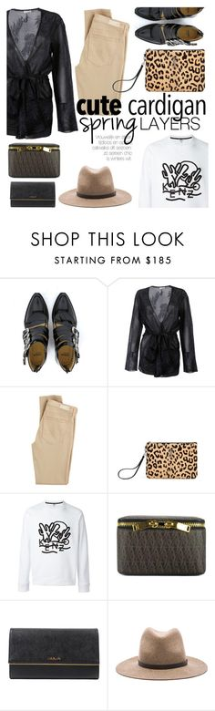 """Cute Spring Cardis"" by italist ❤ liked on Polyvore featuring Dries Van Noten, AG Adriano Goldschmied, Yves Saint Laurent, Kenzo, Prada, rag & bone, cutecardigan and springlayers"