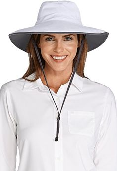 9a98d9fbc28 Coolibar UPF Women s Shapeable Sun Catcher Hat - Sun Protective (One Size-  Tan Dark Khaki)  Perfect for blocking UV rays while gardening
