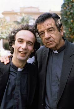 """Roberto Benigni con Walter Matthau in """"Il piccolo diavolo"""" di Roberto Benigni (1988)"""