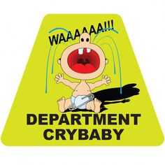 Department Cry Baby Tetrahedron #Babycryingface