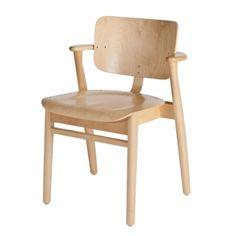 Domus tuoli, lakattu koivu