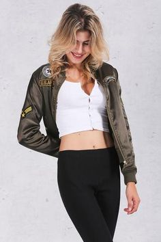 e0f6ec3d2 18 Best Bomber Jackets For Women images in 2016 | Jackets for women ...