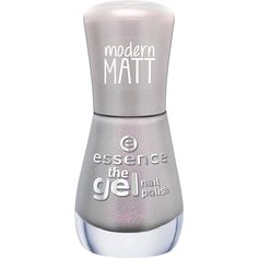Essence The Gel Nail Polish 100 ($2.17) ❤ liked on Polyvore featuring beauty products, nail care, nail polish, shiny nail polish, gel nail care, gel nail varnish and gel nail color