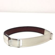 Tami Faifer's Bracelet Silver 925, Leather