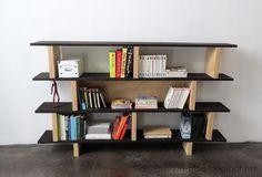 Ohoh Blog - bricolaje y manualidades: Biblioteca DIY / Librero