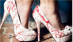 Dexter blood spatter shoes
