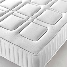 Open Coil Spring Memory Foam Mattress - Luxury Fabric Beds - Beds.co.uk - The Bed Outlet