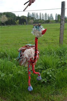 Marionnette autruche à fils : Jeux, jouets par mou-mou