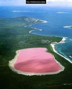 Lake Hillier, The Pink Lake in Australia