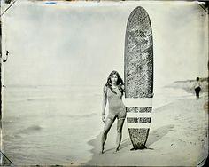 Fancy   Tintype surf culture by Joni Sternbach   Surfing, Surf Art ...