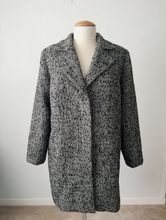 Bamboo coat from Waffle Patterns
