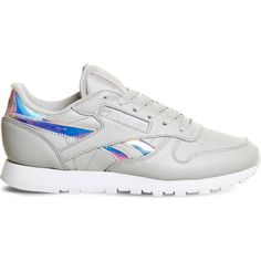 fd2516b73fe5c1 Reebok Classic leather trainers (220 BRL) ❤ liked on Polyvore featuring  shoes