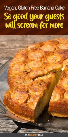 Banana Cake Without Flour, Sugar, or Milk Unforgettable Taste Will Make Guests Scream for More - Paleo Pizza Healthy Banana Cakes, Banana Recipes Easy, Banana Dessert Recipes, Paleo Recipes Easy, Easy Cake Recipes, Paleo Dessert, Vegan Desserts, Organic Recipes, Baby Food Recipes