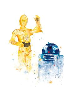 and Printable Artwork. See-Threepio is a humanoid robot character from the Star Wars.Artoo-Detoo, is also a fictional robot character in the Star Wars. Those two droids are quite funny :D Star Wars Poster, Star Wars Art, Robots Characters, Star Wars Prints, Star Wars Wallpaper, Star War 3, Realistic Drawings, Funny Art, Super Funny